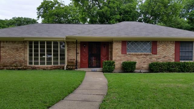 Rental Homes for Rent, ListingId:33510272, location: 3315 Galahad Drive Dallas 75229