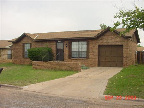 Rental Homes for Rent, ListingId:33510433, location: 3749 Duke Lane Abilene 79602