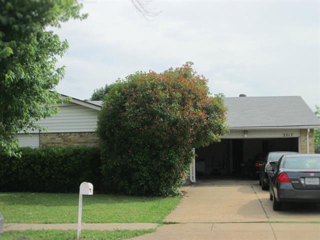 Rental Homes for Rent, ListingId:33523681, location: 3517 Glenda Drive Grand Prairie 75052