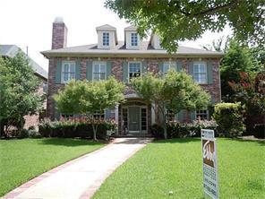 Rental Homes for Rent, ListingId:33623687, location: 2805 Daniel Avenue University Park 75205