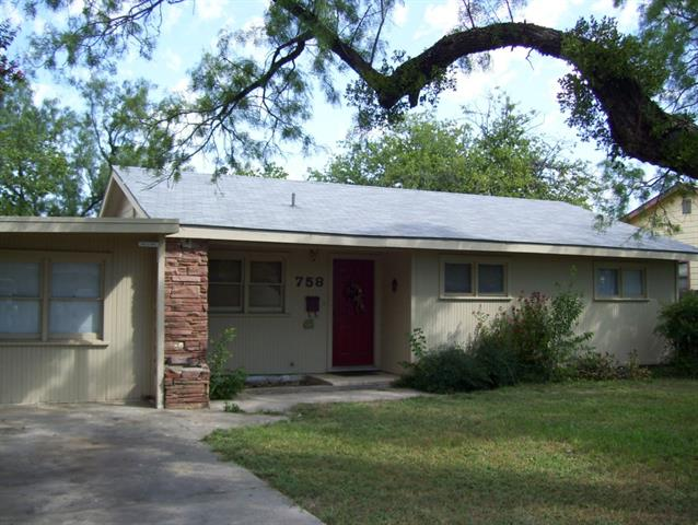 Rental Homes for Rent, ListingId:33633979, location: 758 E North 12th Street Abilene 79601