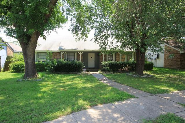 Rental Homes for Rent, ListingId:33664711, location: 906 Bois D Arc Court Garland 75042