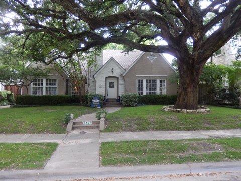 Rental Homes for Rent, ListingId:33678702, location: 4429 Stanhope Street University Park 75205