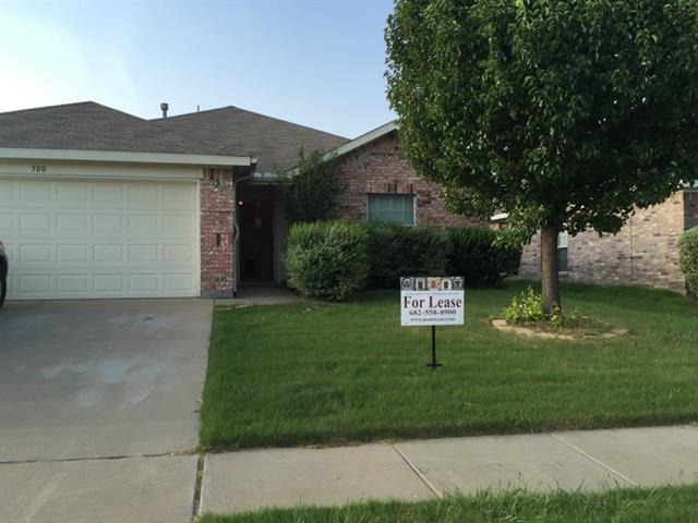 Rental Homes for Rent, ListingId:33678944, location: 500 Prairie Gulch Drive Ft Worth 76140