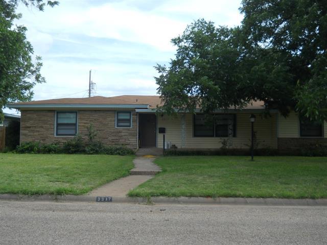 Rental Homes for Rent, ListingId:33715939, location: 3917 Don Juan Street Abilene 79605