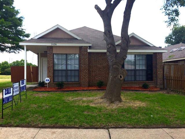 Rental Homes for Rent, ListingId:33715312, location: 1636 Wheatfield Drive Mesquite 75149