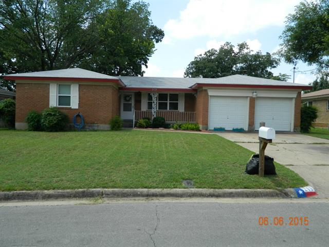 Rental Homes for Rent, ListingId:33833774, location: 213 Sheri Lane Hurst 76053