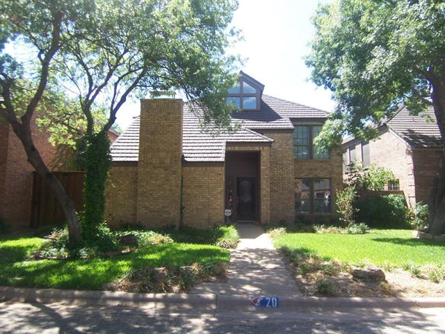 Rental Homes for Rent, ListingId:33883200, location: 20 Courtyard Lane Abilene 79606