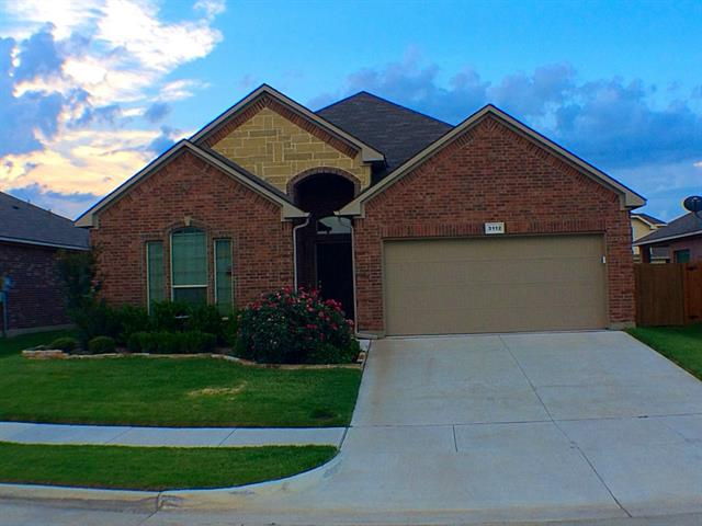 Rental Homes for Rent, ListingId:33899950, location: 3112 Stonecrop Trail Denton 76201