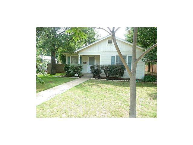 Rental Homes for Rent, ListingId:33899739, location: 2842 Halbert Street Ft Worth 76112