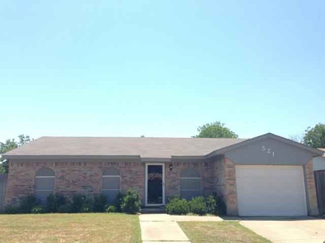 Rental Homes for Rent, ListingId:33969469, location: 521 Annapolis Drive Ft Worth 76108