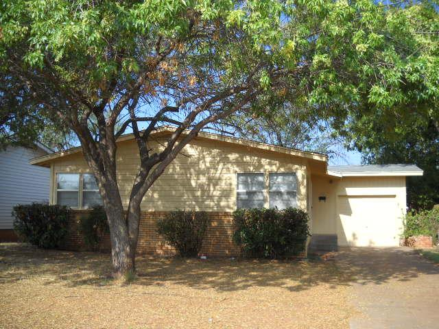 Rental Homes for Rent, ListingId:33944378, location: 1518 N Mockingbird Lane N Abilene 79603