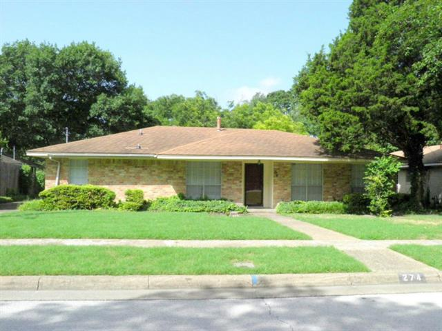 Rental Homes for Rent, ListingId:34000670, location: 274 Larry Drive Duncanville 75137