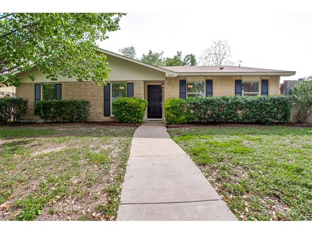 Rental Homes for Rent, ListingId:34084961, location: 4409 Mint Drive Garland 75043