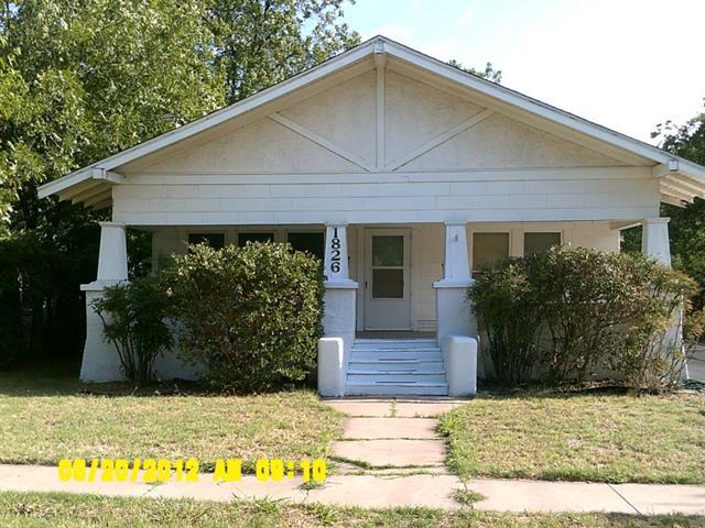Rental Homes for Rent, ListingId:34124644, location: 1826 S 8th Street Abilene 79602
