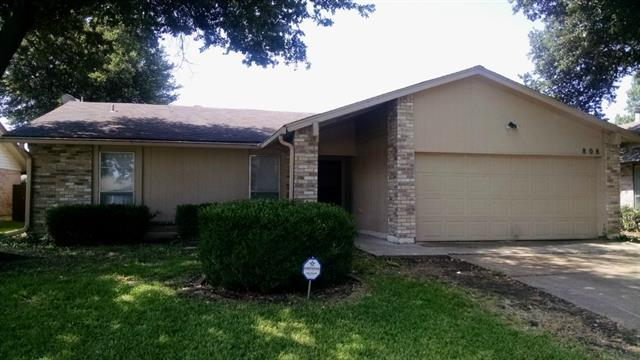 Rental Homes for Rent, ListingId:34125248, location: 808 E Timberview Lane E Arlington 76014