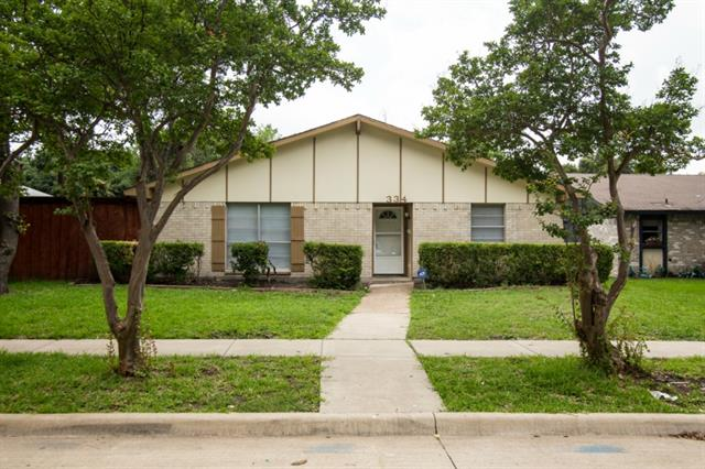 Rental Homes for Rent, ListingId:34198681, location: 334 Nettle Drive Garland 75043