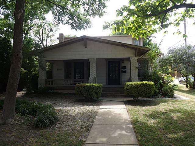 Rental Homes for Rent, ListingId:34173334, location: 2100 Ashland Avenue Ft Worth 76107