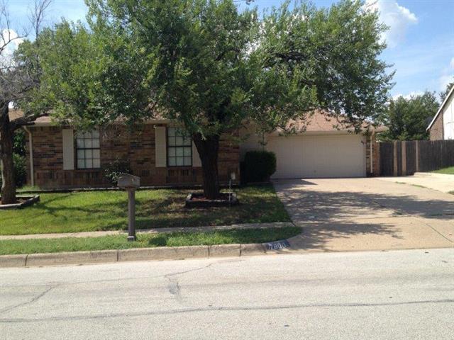 Rental Homes for Rent, ListingId:34183218, location: 7800 Castillo Road Ft Worth 76112