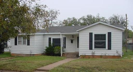 Rental Homes for Rent, ListingId:34183037, location: 1925 Sewell Street Abilene 79605