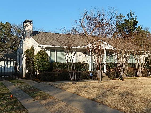Rental Homes for Rent, ListingId:34183421, location: 4175 Park Lane Dallas 75220