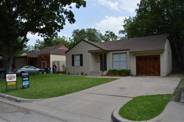 Rental Homes for Rent, ListingId:34209682, location: 2717 W Bewick Street Ft Worth 76109