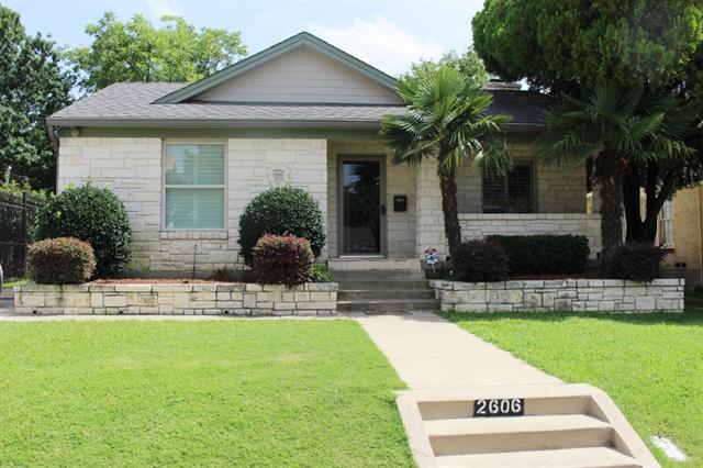 Rental Homes for Rent, ListingId:34286094, location: 2606 Alco Avenue Dallas 75211