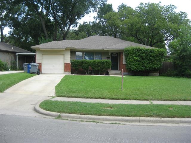 Rental Homes for Rent, ListingId:34317519, location: 10108 PINECREST Dallas 75228