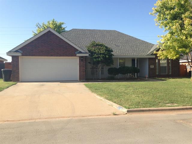 Rental Homes for Rent, ListingId:34449273, location: 4450 Cole Drive Abilene 79606