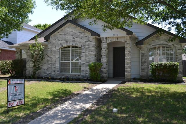 Rental Homes for Rent, ListingId:34477480, location: 7936 Maiden Lane Frisco 75035