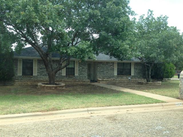 Rental Homes for Rent, ListingId:34485051, location: 1342 Summoner Lane Abilene 79602