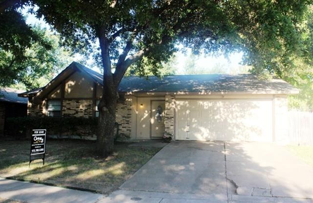 Rental Homes for Rent, ListingId:34496386, location: 2809 Santa Monica Drive Grand Prairie 75052