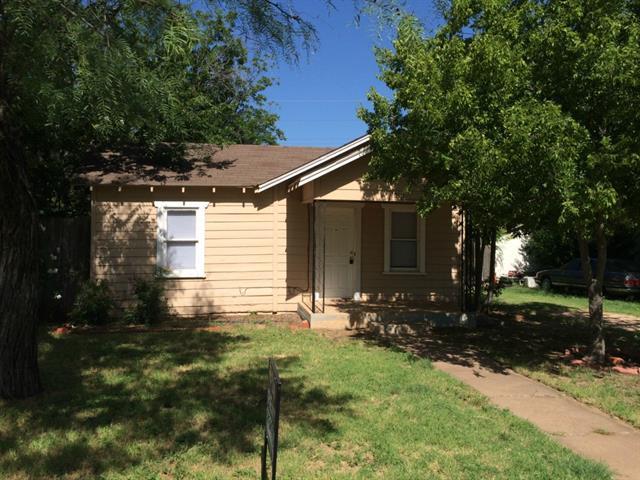 Rental Homes for Rent, ListingId:34505440, location: 1530 Portland Avenue Abilene 79605