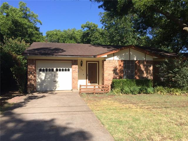 Rental Homes for Rent, ListingId:34566890, location: 209 S Scott Street Burleson 76028