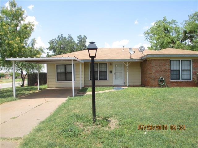 Rental Homes for Rent, ListingId:34609003, location: 3296 Sandefer Street Abilene 79603