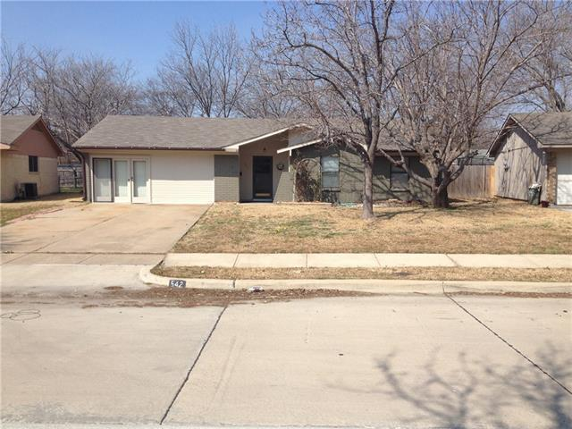 Rental Homes for Rent, ListingId:34609302, location: 542 W Ferndale Lane W Grand Prairie 75052