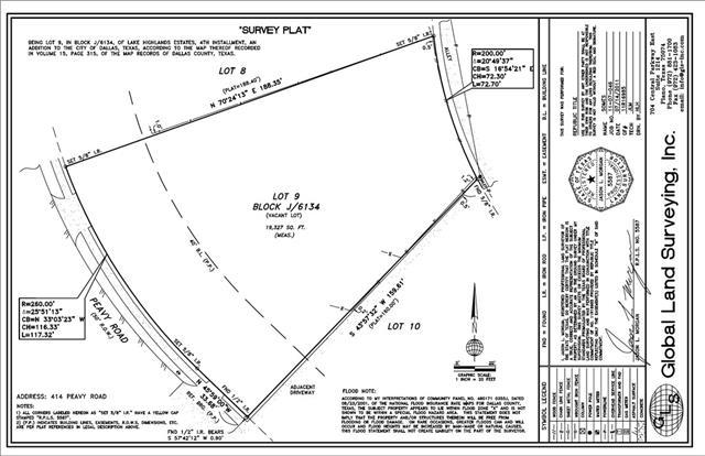 Land for Sale, ListingId:34634651, location: 414 Peavy Road Dallas 75218