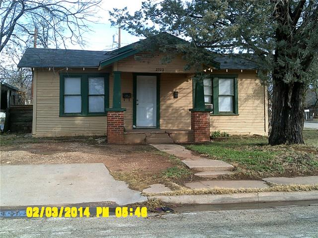 Rental Homes for Rent, ListingId:34646398, location: 2702 S 3rd Street Abilene 79605