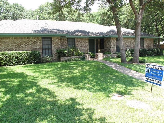 Rental Homes for Rent, ListingId:34670036, location: 3 Highview Court Denton 76205