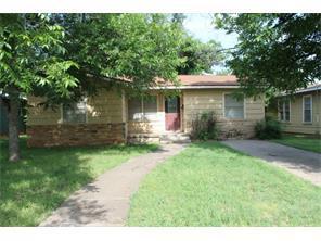 Rental Homes for Rent, ListingId:34830758, location: 1102 S Jefferson Abilene 79605