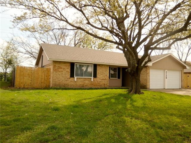 Rental Homes for Rent, ListingId:34810628, location: 3128 Valley Forge Trail Forest Hill 76140