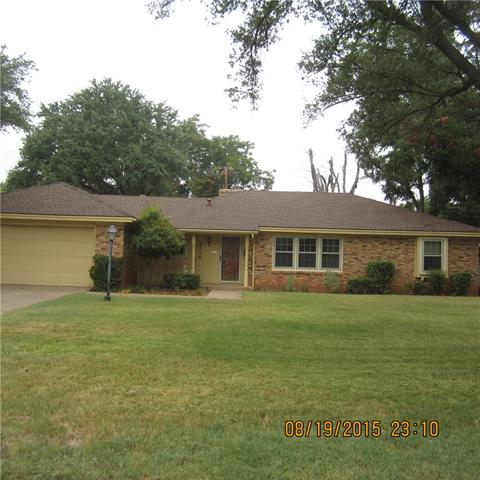 Rental Homes for Rent, ListingId:34777883, location: 2318 River Oaks Circle Abilene 79605