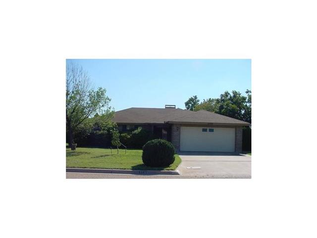 Rental Homes for Rent, ListingId:34822726, location: 1733 Smith Drive Abilene 79601