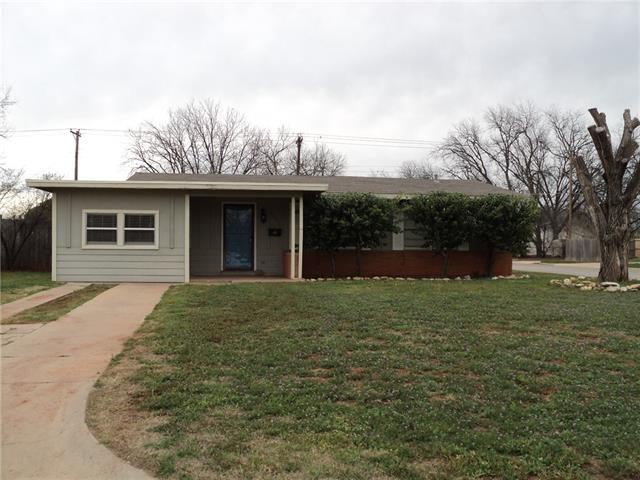 Rental Homes for Rent, ListingId:34822398, location: 1281 Buccaneer Drive Abilene 79605