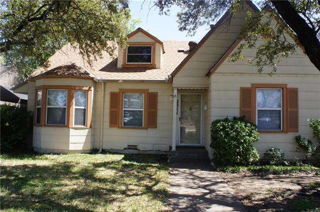 Rental Homes for Rent, ListingId:34822331, location: 2811 Merida Avenue Ft Worth 76109