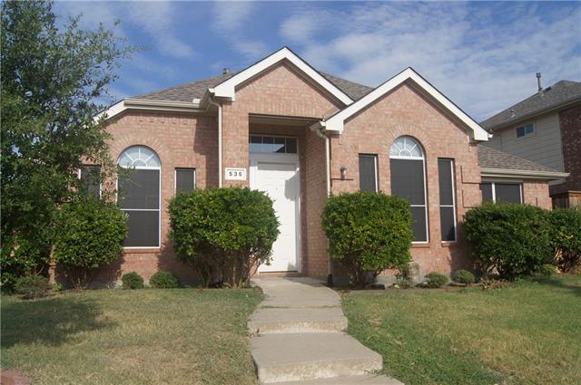 Rental Homes for Rent, ListingId:34910572, location: 535 Castleford Allen 75013