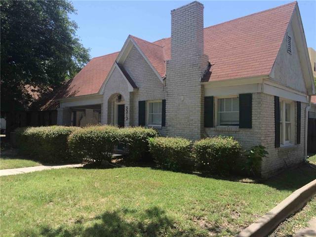 Rental Homes for Rent, ListingId:34913251, location: 3212 Cockrell Avenue Ft Worth 76109