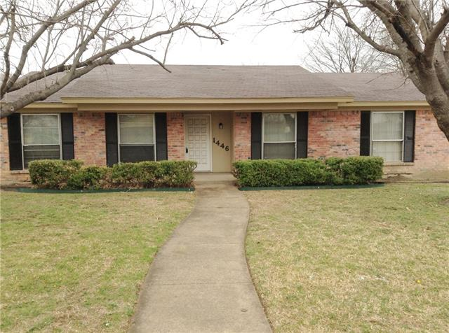 Rental Homes for Rent, ListingId:35130268, location: 1446 Prescott Drive Lancaster 75134
