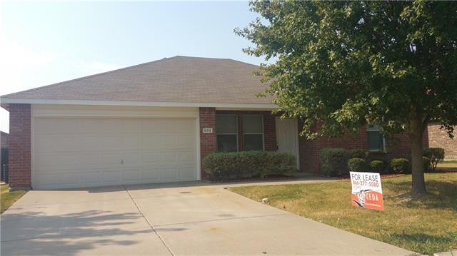 Rental Homes for Rent, ListingId:35157531, location: 602 Fox Forney 75126