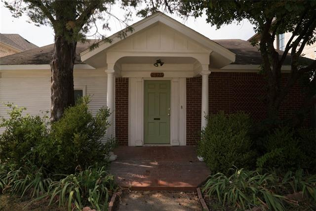 Rental Homes for Rent, ListingId:35245386, location: 2925 Dyer Street University Park 75205